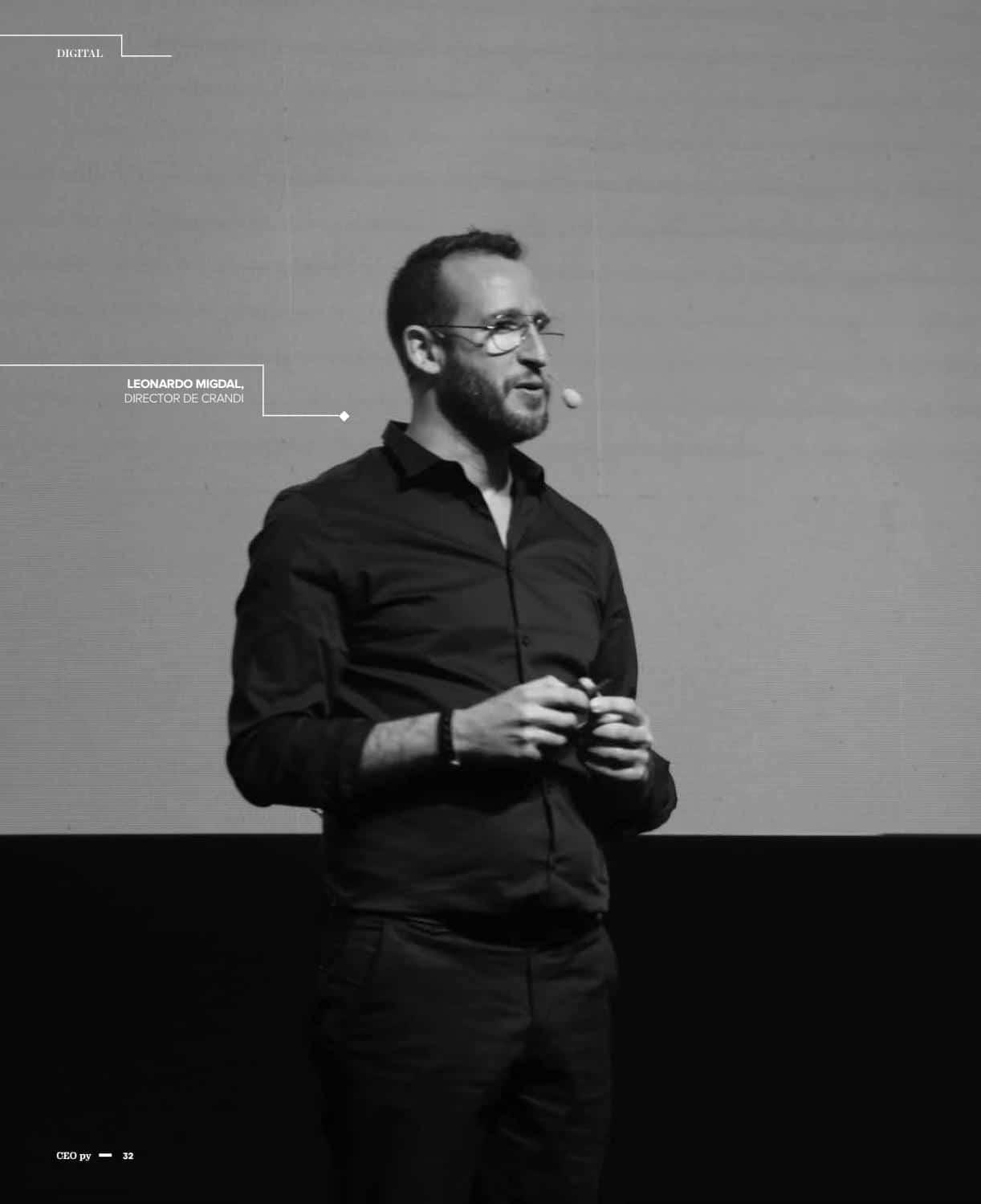 Leo Migdal habló con revista Ceo Py acerca de los nuevos caminos en la era digital